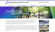 Graduate School of Information Systems